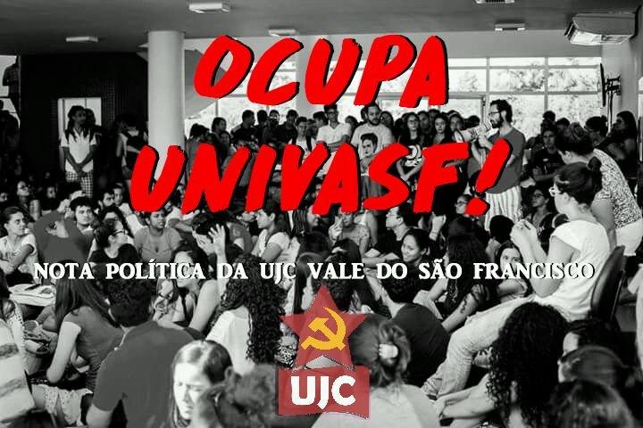 Nota Política da UJC sobre a greve dos estudantes na UNIVASF