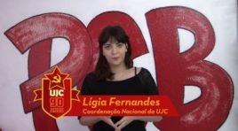 90 ANOS DE UJC BRASILl Ligia Fernandes – Coordenação Nacional DA UJC-Brasil