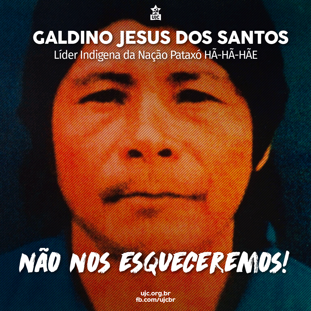 23 anos do assassinato do líder indígena Galdino Jesus dos Santos