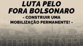Estudantes em luta pelo Fora Bolsonaro: construir uma mobilização permanente!