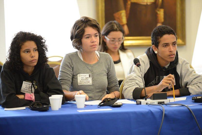 Militante do PCB de São Paulo participa de audiência nos Estados Unidos para denunciar agressões da PM contra estudantes
