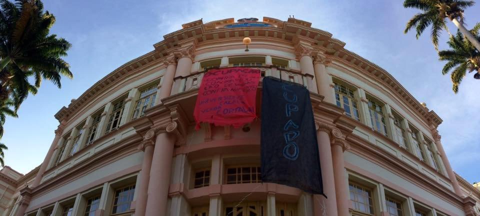 """A União da Juventude Comunista, saúda a ocupação do Edifício Administrativo """"Bernardão"""" da Universidade Federal de Viçosa – MG (UFV)."""