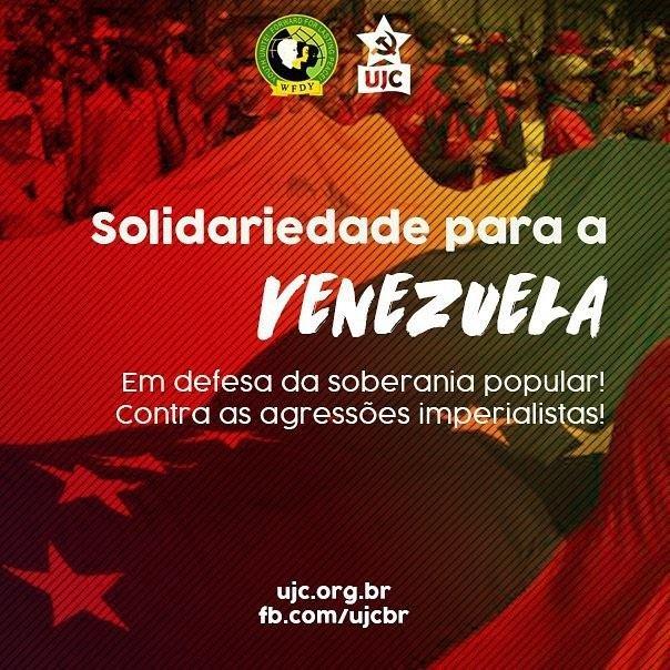 FMJD: Solidariedade para a Venezuela!